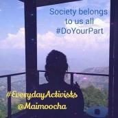 Society = Us @Maimoocha